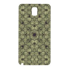 Stylized Modern Floral Design Samsung Galaxy Note 3 N9005 Hardshell Back Case by dflcprints