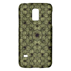 Stylized Modern Floral Design Galaxy S5 Mini by dflcprints