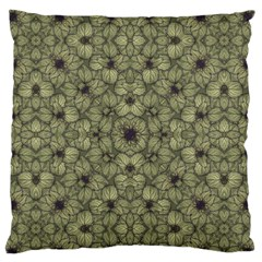 Stylized Modern Floral Design Standard Flano Cushion Case (one Side) by dflcprints