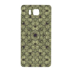 Stylized Modern Floral Design Samsung Galaxy Alpha Hardshell Back Case by dflcprints