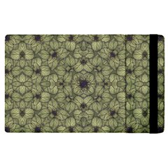 Stylized Modern Floral Design Apple Ipad Pro 9 7   Flip Case by dflcprints