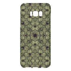 Stylized Modern Floral Design Samsung Galaxy S8 Plus Hardshell Case  by dflcprints