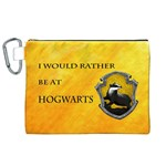 Hufflepuff cosmetic bag - Canvas Cosmetic Bag (XL)