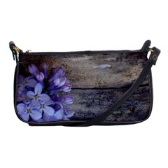Lilac Shoulder Clutch Bags by PhotoThisxyz