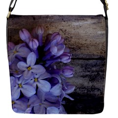 Lilac Flap Messenger Bag (s) by PhotoThisxyz