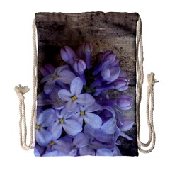 Lilac Drawstring Bag (large) by PhotoThisxyz