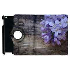 Lilac Apple Ipad 2 Flip 360 Case by PhotoThisxyz