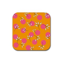 Playful Mood Ii Rubber Square Coaster (4 Pack)