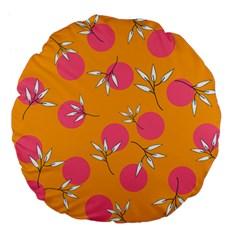 Playful Mood Ii Large 18  Premium Flano Round Cushions by allgirls