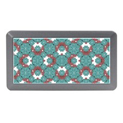 Colorful Geometric Graphic Floral Pattern Memory Card Reader (mini) by dflcprints
