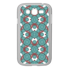 Colorful Geometric Graphic Floral Pattern Samsung Galaxy Grand Duos I9082 Case (white) by dflcprints