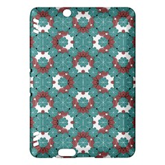 Colorful Geometric Graphic Floral Pattern Kindle Fire Hdx Hardshell Case by dflcprints