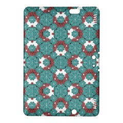 Colorful Geometric Graphic Floral Pattern Kindle Fire Hdx 8 9  Hardshell Case by dflcprints