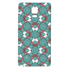 Colorful Geometric Graphic Floral Pattern Galaxy Note 4 Back Case by dflcprints