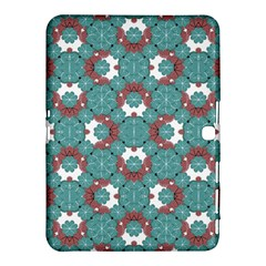 Colorful Geometric Graphic Floral Pattern Samsung Galaxy Tab 4 (10 1 ) Hardshell Case  by dflcprints