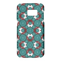 Colorful Geometric Graphic Floral Pattern Samsung Galaxy S7 Hardshell Case  by dflcprints
