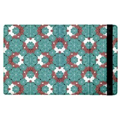 Colorful Geometric Graphic Floral Pattern Apple Ipad Pro 9 7   Flip Case by dflcprints