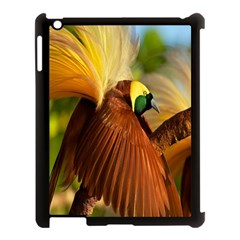 Birds Paradise Cendrawasih Apple Ipad 3/4 Case (black) by Mariart