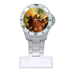 Birds Paradise Cendrawasih Plastic Nurses Watch by Mariart
