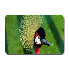 Bird Hairstyle Animals Sexy Beauty Small Doormat  by Mariart