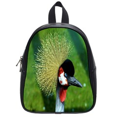Bird Hairstyle Animals Sexy Beauty School Bag (small) by Mariart