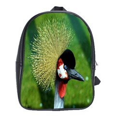Bird Hairstyle Animals Sexy Beauty School Bag (xl) by Mariart