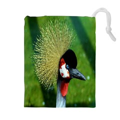 Bird Hairstyle Animals Sexy Beauty Drawstring Pouches (extra Large) by Mariart