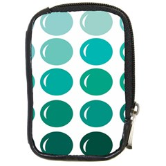 Bubbel Balloon Shades Teal Compact Camera Cases by Mariart