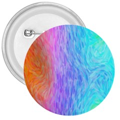 Aurora Rainbow Orange Pink Purple Blue Green Colorfull 3  Buttons by Mariart
