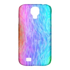 Aurora Rainbow Orange Pink Purple Blue Green Colorfull Samsung Galaxy S4 Classic Hardshell Case (pc+silicone) by Mariart