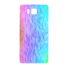 Aurora Rainbow Orange Pink Purple Blue Green Colorfull Samsung Galaxy Alpha Hardshell Back Case by Mariart