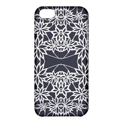 Blue White Lace Flower Floral Star Apple Iphone 5c Hardshell Case by Mariart