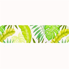Amazon Forest Natural Green Yellow Leaf Large Bar Mats by Mariart