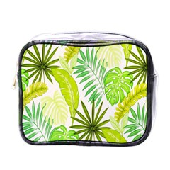 Amazon Forest Natural Green Yellow Leaf Mini Toiletries Bags by Mariart