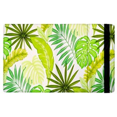 Amazon Forest Natural Green Yellow Leaf Apple Ipad 2 Flip Case by Mariart