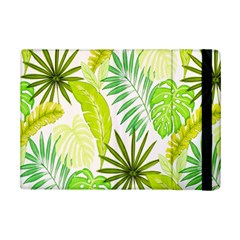 Amazon Forest Natural Green Yellow Leaf Ipad Mini 2 Flip Cases by Mariart