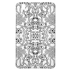 Black Psychedelic Pattern Samsung Galaxy Tab Pro 8 4 Hardshell Case by Mariart