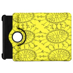 Yellow Flower Floral Circle Sexy Kindle Fire Hd 7