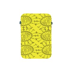 Yellow Flower Floral Circle Sexy Apple Ipad Mini Protective Soft Cases by Mariart