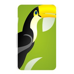 Cute Toucan Bird Cartoon Fly Yellow Green Black Animals Memory Card Reader by Mariart