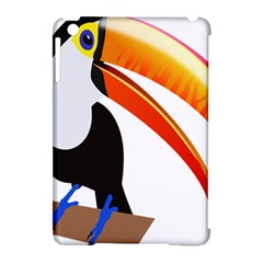 Cute Toucan Bird Cartoon Fly Apple Ipad Mini Hardshell Case (compatible With Smart Cover) by Mariart