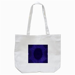 Flower Floral Sunflower Blue Purple Leaf Wave Chevron Beauty Sexy Tote Bag (white) by Mariart