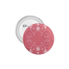 Flower Floral Leaf Pink Star Sunflower 1 75  Buttons by Mariart