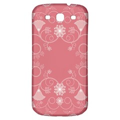 Flower Floral Leaf Pink Star Sunflower Samsung Galaxy S3 S Iii Classic Hardshell Back Case by Mariart