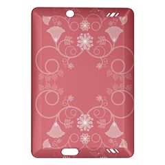 Flower Floral Leaf Pink Star Sunflower Amazon Kindle Fire Hd (2013) Hardshell Case by Mariart