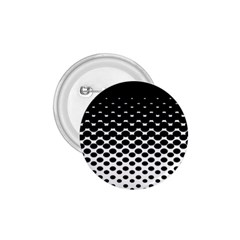 Gradient Circle Round Black Polka 1 75  Buttons by Mariart