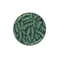 Coconut Leaves Summer Green Hat Clip Ball Marker (10 Pack) by Mariart