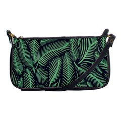 Coconut Leaves Summer Green Shoulder Clutch Bags by Mariart