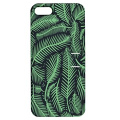 Coconut Leaves Summer Green Apple Iphone 5 Hardshell Case With Stand by Mariart