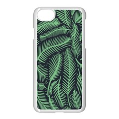Coconut Leaves Summer Green Apple Iphone 7 Seamless Case (white) by Mariart
